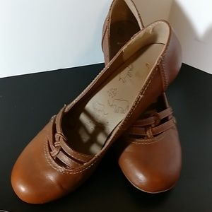Brown Finny Pumps by Jellypop Size 9.5